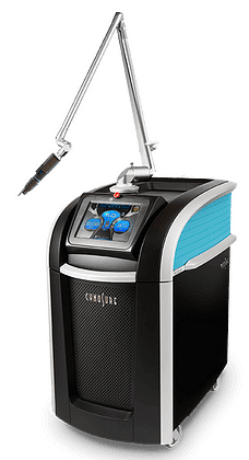 A pictur eof the PicoSure Tattoo Removal Laser Device